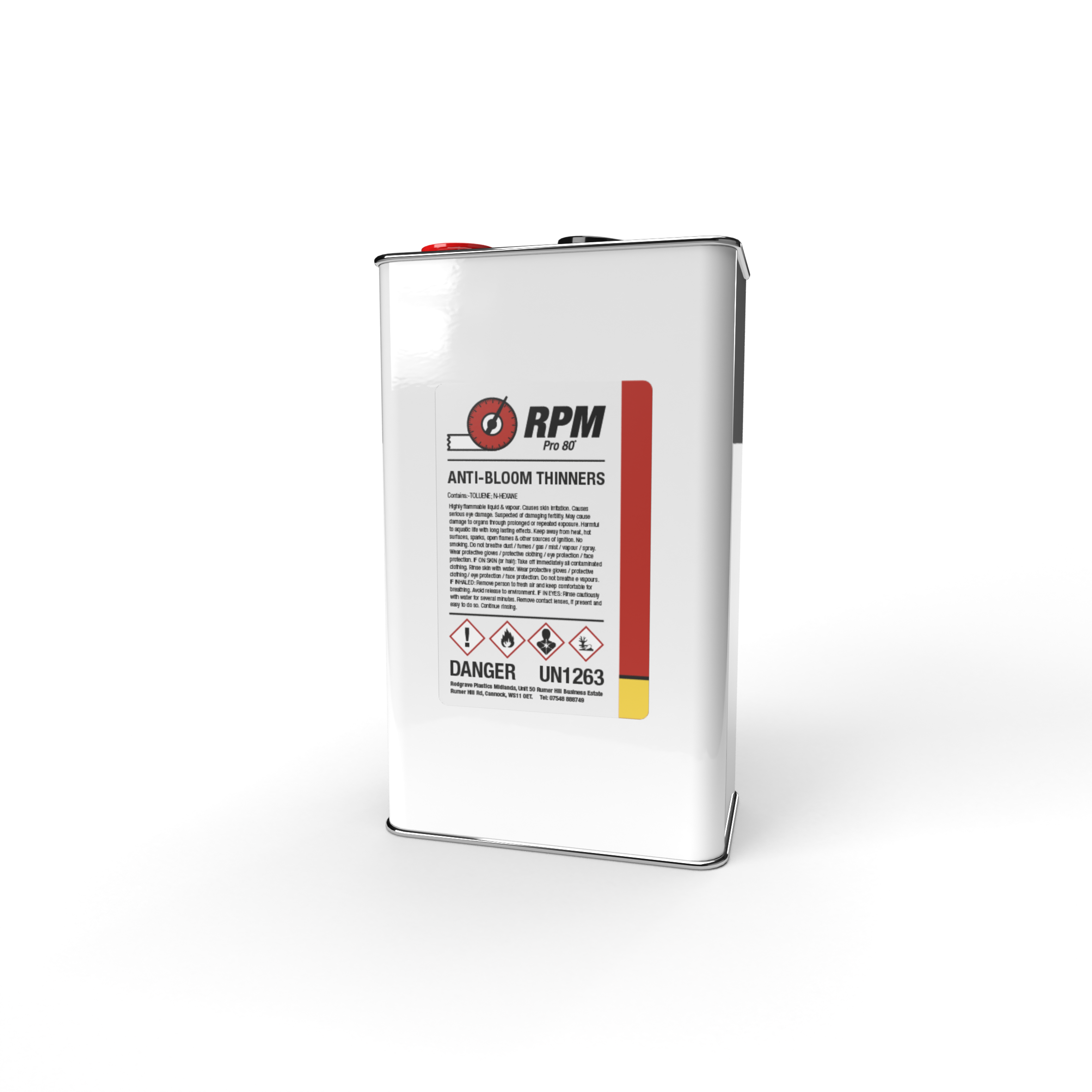 RPM 5 LTR AntiBloom Thinners-front a